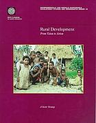 Rural development : from vision to action