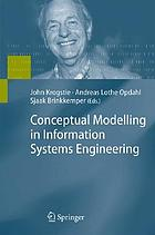 Conceptual modelling [sic] in information systems engineeringConceptual modelling in information systems engineering : with 8 tables