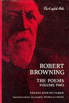 The complete poetic and dramatic works of Robert Browning