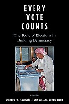Every vote counts : the role of elections in building democracy