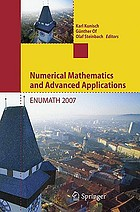 Numerical mathematics and advanced applications : proceedings of ENUMATH 2007, the 7th European Conference on Numerical Mathematics and Advanced Applications, Graz, Austria, September 2007