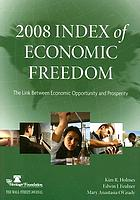 2008 index of economic freedom