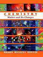 Chemistry : matter and its changes