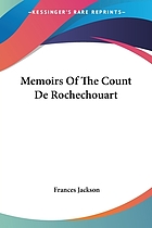 Memories of the count de rochouart