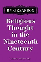 Religious thought in the nineteenth century