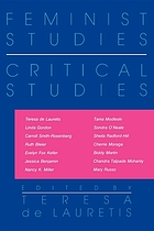 Feminist studies, critical studies