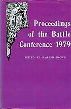 Proceedings of the Battle Conference on Anglo-Norman Studies II, 1979