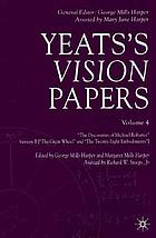 Yeats's vision papers