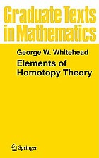 Elements of homotopy theory
