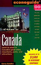 Econoguide '00 Canada : coast to coast in Canada's great cities, mountains, parks, and attractions
