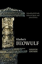 Klaeber's Beowulf and the fight at FinnsburgKlaeber's Beowulf and the fight at Finnsburg : ed., with introduction, commentary, appendices, glossary, and bibliography by R.D. Fulk