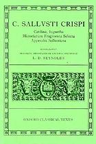 Catiline's war ; The Jugurthine war ; Histories
