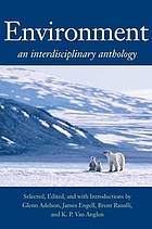 Environment : an interdisciplinary anthology