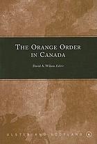 The Orange Order in Canada