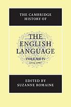 The Cambridge history of the English languageThe Cambridge history of the English language