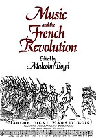 Music and the French Revolution