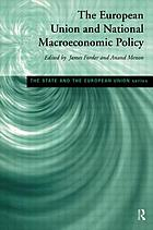 The European Union and national macroeconomic policy