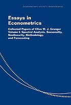 Essays in econometrics : collected papers of Clive W.J. Granger