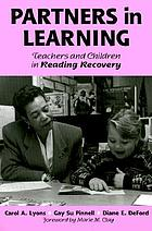 Partners in learning : teachers and children in reading recovery