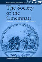 The Society of the Cincinnati : conspiracy and distrust in early America