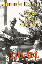 Jimmie Davis more than sunshine