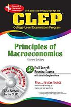 The best test preparation for the CLEP principles of macroeconomics