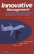 Innovative management in the DARPA high altitude endurance unmanned aerial vehicle program phase II experience