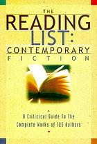 The reading list. a critical guide to the complete works of 110 authors