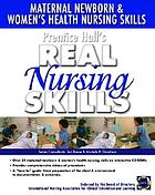 Maternal-newborn & women's health nursing skills