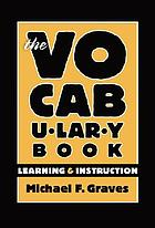 The vocabulary book : learning & instruction
