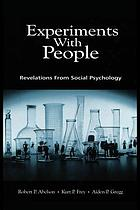 Experiments with people revelations from social psychology