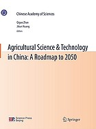 Agricultural science & technology in China : a roadmap to 2050