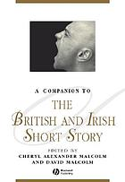 A companion to the British and Irish short story