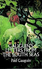 Gauguin's letters from the South Seas