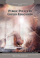 Public policy in gifted education
