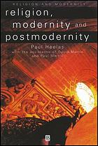 Religion, modernity, and postmodernity
