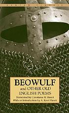 Beowulf, and other Old English poems