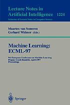 Machine learning : proceedings