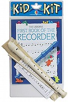First book of the recorder kid kit