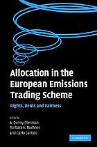 Allocation in the European Emissions Trading Scheme : rights, rents and fairness