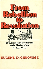 From rebellion to revolution : Afro-American slave revolts in the making of the modern world
