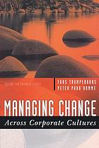 Managing change across corporate cultures
