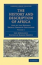 The history and description of Africa and of the notable things therein contained
