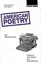 American poetry--the modernist ideal