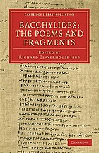 Bacchylides : the poems and fragments