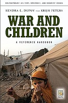 War and children : a reference handbook