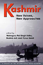 Kashmir : new voices, new approaches