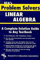 The linear algebra problem solver