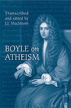 Boyle on atheism