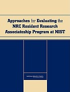 Approaches for evaluating the NRC Resident Research Associateship Program at NIST